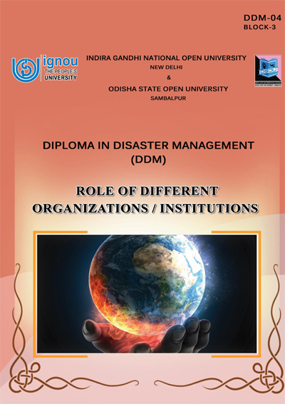 Role of Different Organizations/Institutions